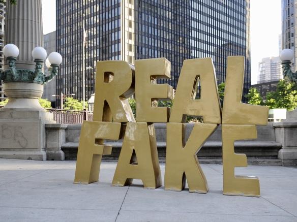 real fake